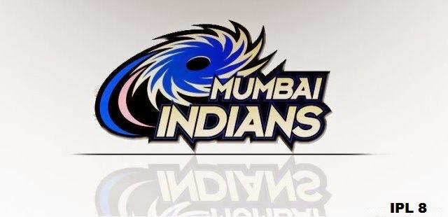 ipl 8 2015 mumbai indians mi team jersey logo hd wallpapers