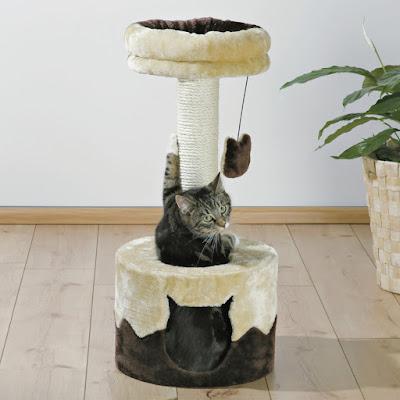 Cama de gamuza para gatos