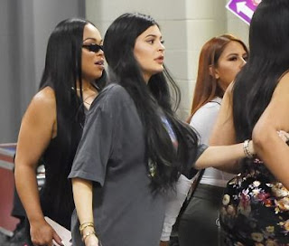 Is she playing along or is she really pregnant? Kylie Jenner steps out in oversized top