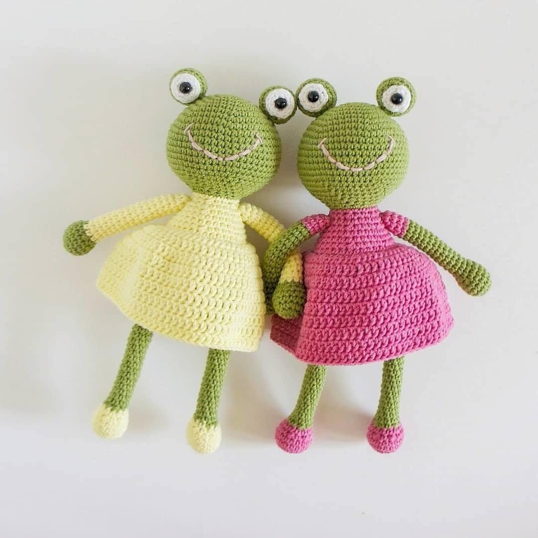 Tree Frog | Craftsy | Crochet frog, Crochet dolls, Cute crochet | 1080x1080