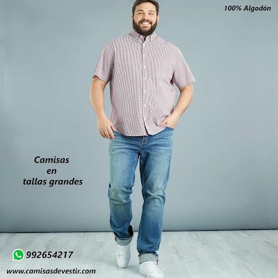 Camisas tallas grandes Puno