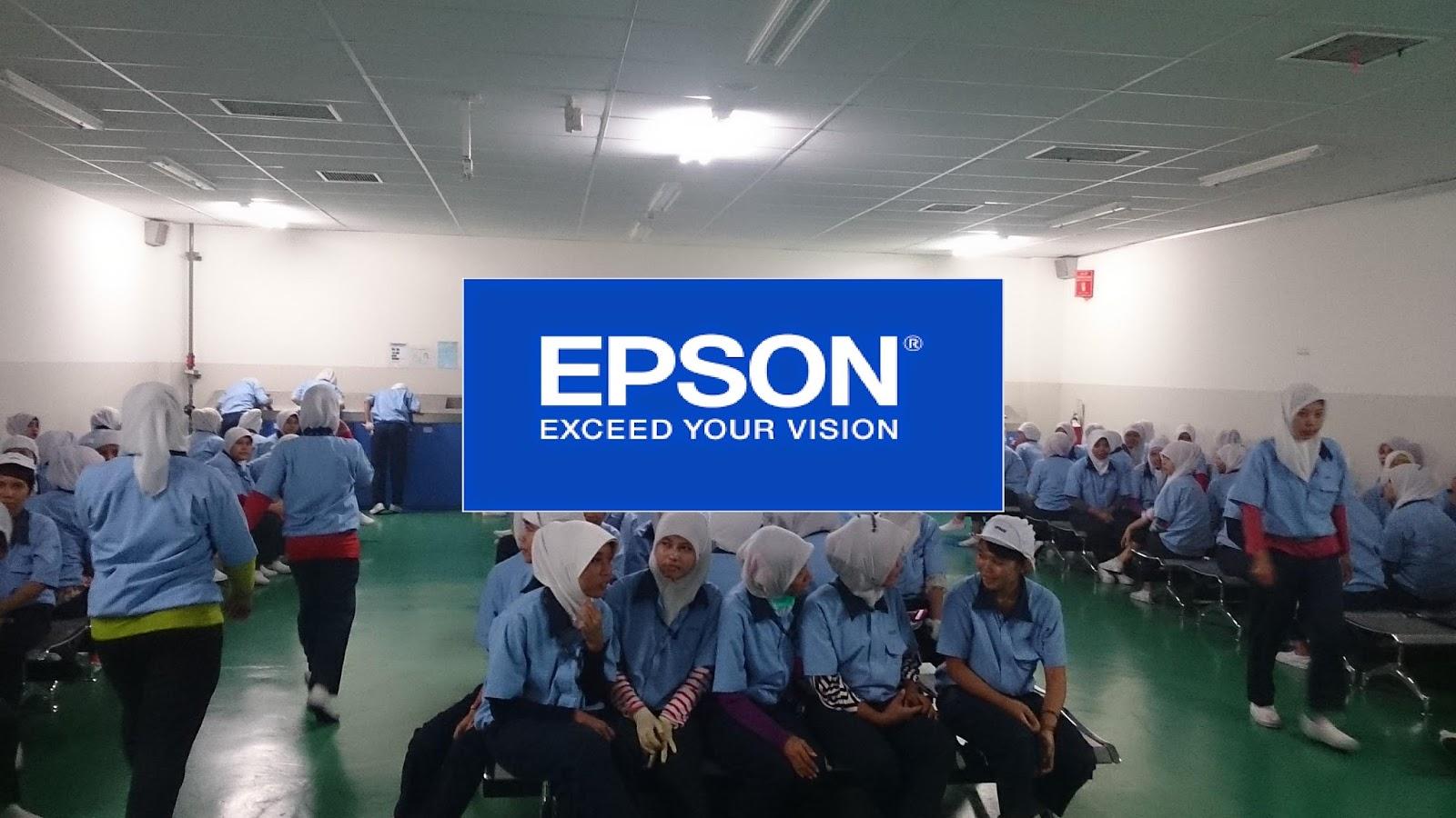 Lowongan Kerja Terbaru PT.Epson Industry untuk lulusan SMA/K Sederajat