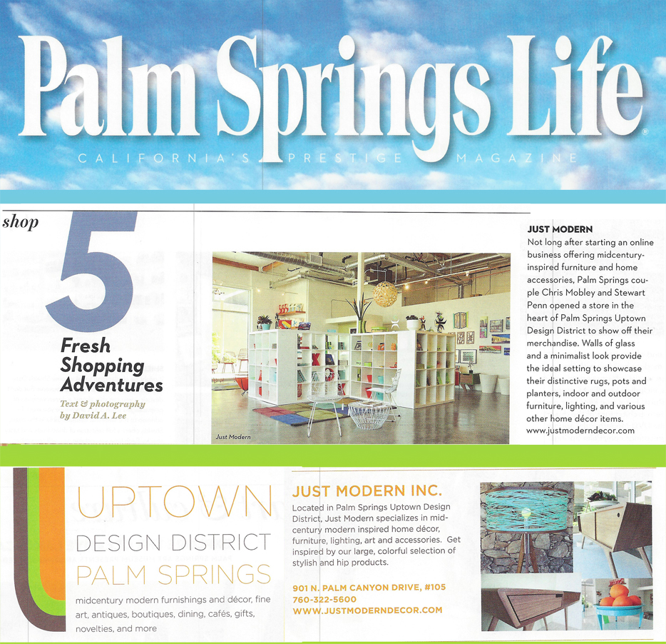 Just Modern Is Palm Springs Life Magazine