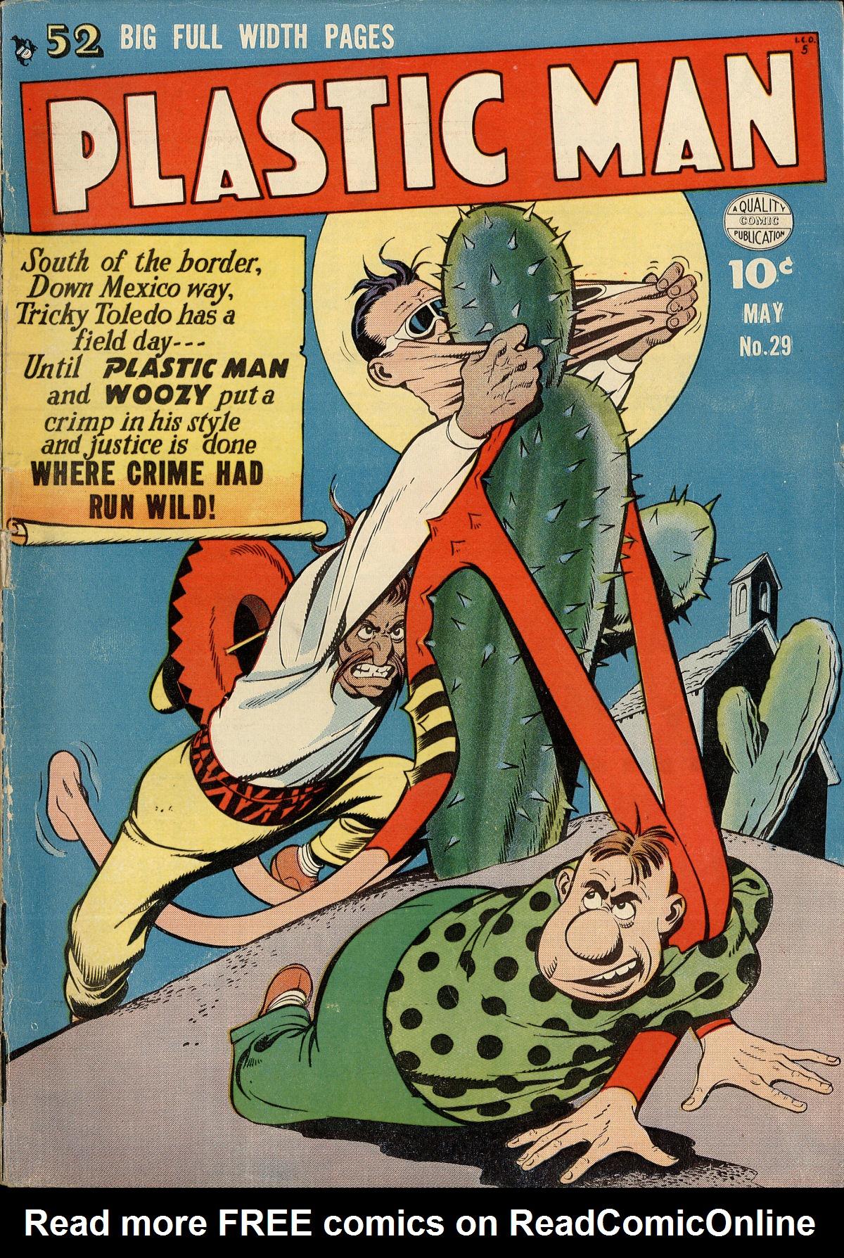 Plastic Man (1943) 29 Page 1
