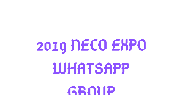 Neco Runs WhatsApp Group : Neco whatsapp group link 2019