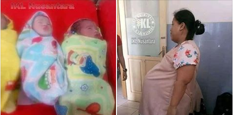 Wanita Ini Melahirkan 3 Anak Kembar Bertepatan Saat Nonton Pengibaran Bendara 17 AGUSTUS.