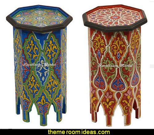 Hand Painted Side Tables