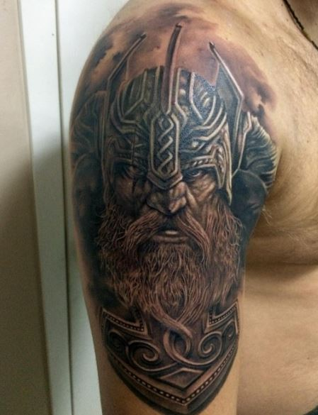 270+ Traditional Viking Tattoos For Men With Meanings ... | 449 x 585 jpeg 39kB