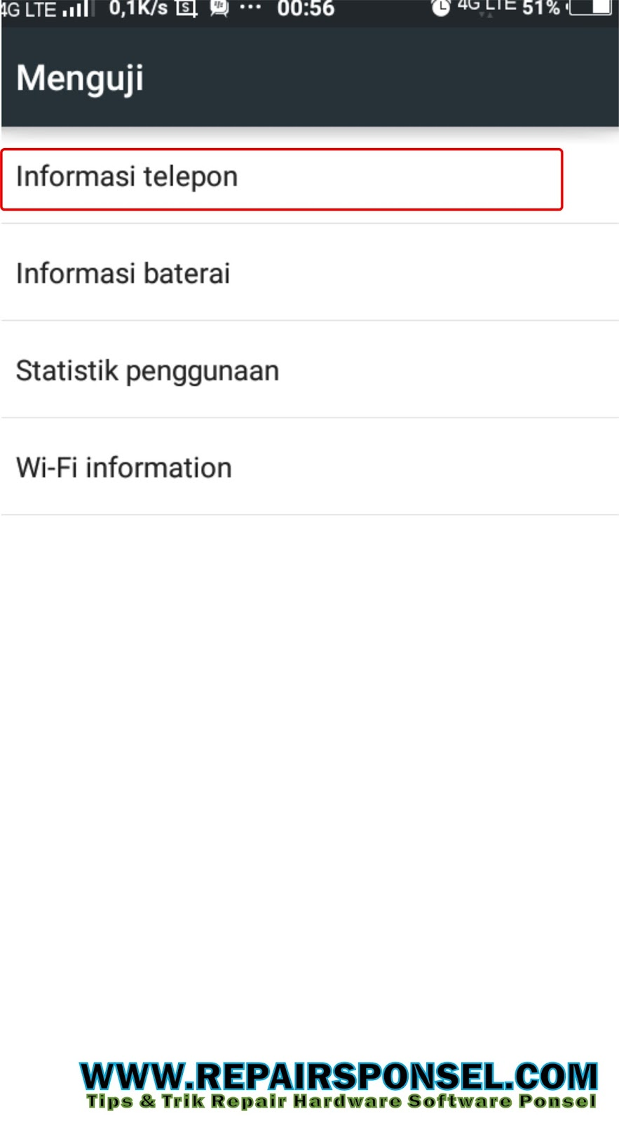 Cara Lock Jaringan 4G LTE Only Vivo Smartphone - Repairs Ponsel