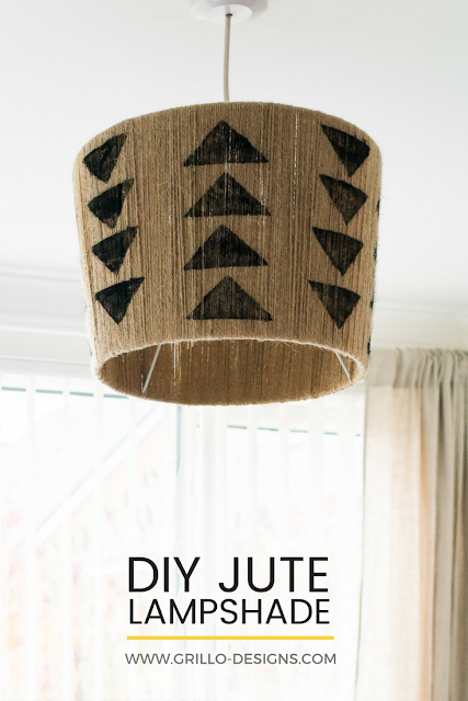 DIY Jute Lampshade feature, Oriental Trading Giveaway at Creativity Unleashed Link party #200, MyLove2Create