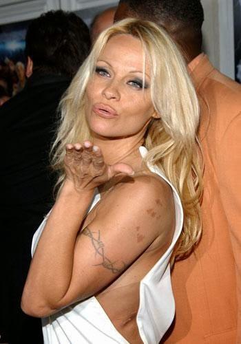 2b8abfefa6902 Tattooz Designs: Pam Anderson New Tattoos| Pamela Anderson Tattoos Pics