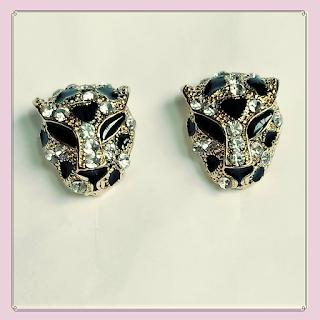 Brincos de tigre, bijuterias, acessórios femininos