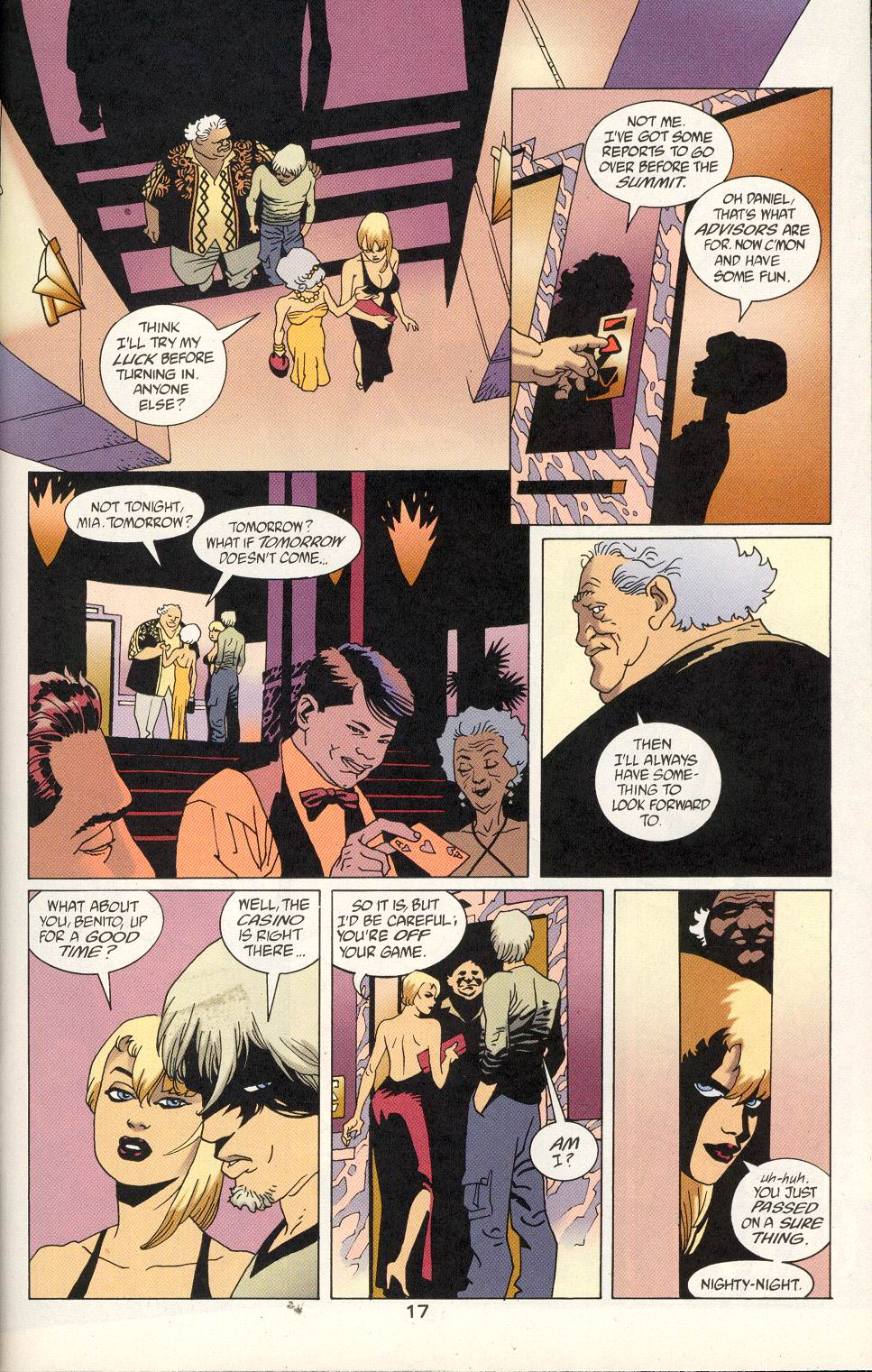 Read online 100 Bullets comic -  Issue #24 - 19