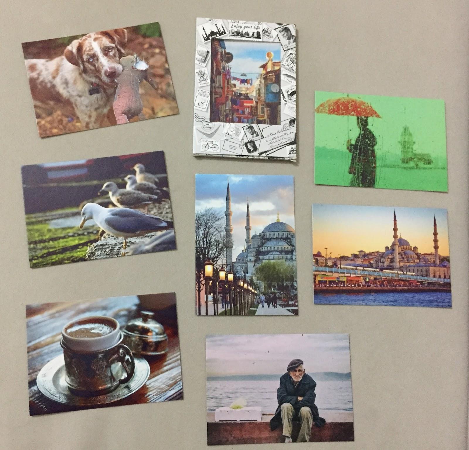 Kartpostal Çeşitleri