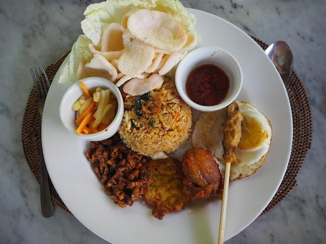 Indonesian food bali