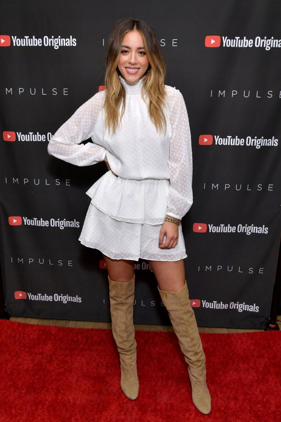 Chloe Bennet Impulse Season 2 Special Screening in West Hollywood