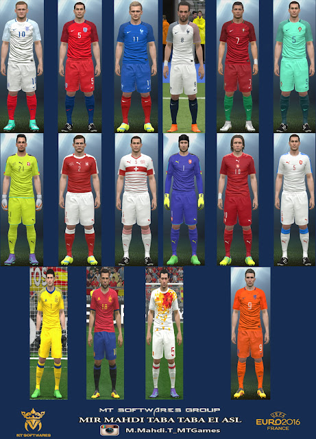 PES 2016 Euro 2016 Kit v.2 by MT Games 1991