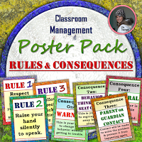 Rules and Consequences Poster Pack
