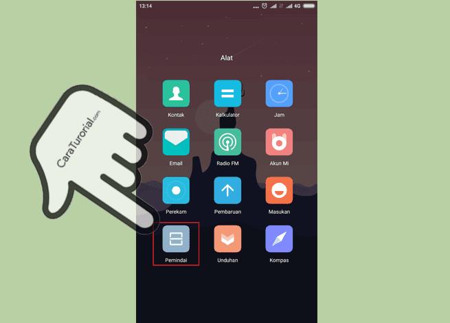 Alat pemindai (Scan) Xiaomi