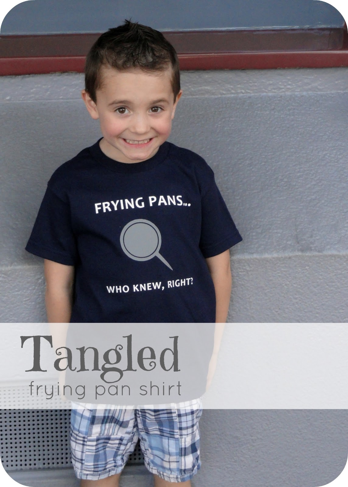 Tangled Frying Pan Shirt A Little Tipsy