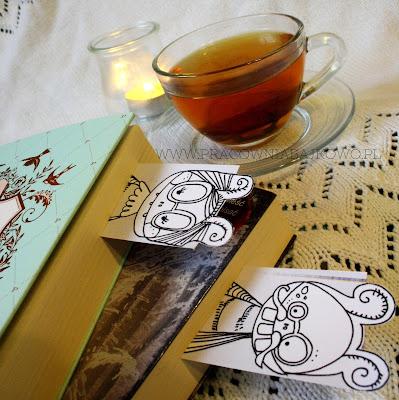 Mole książkowe czyli zakładki do książek do wydrukowania