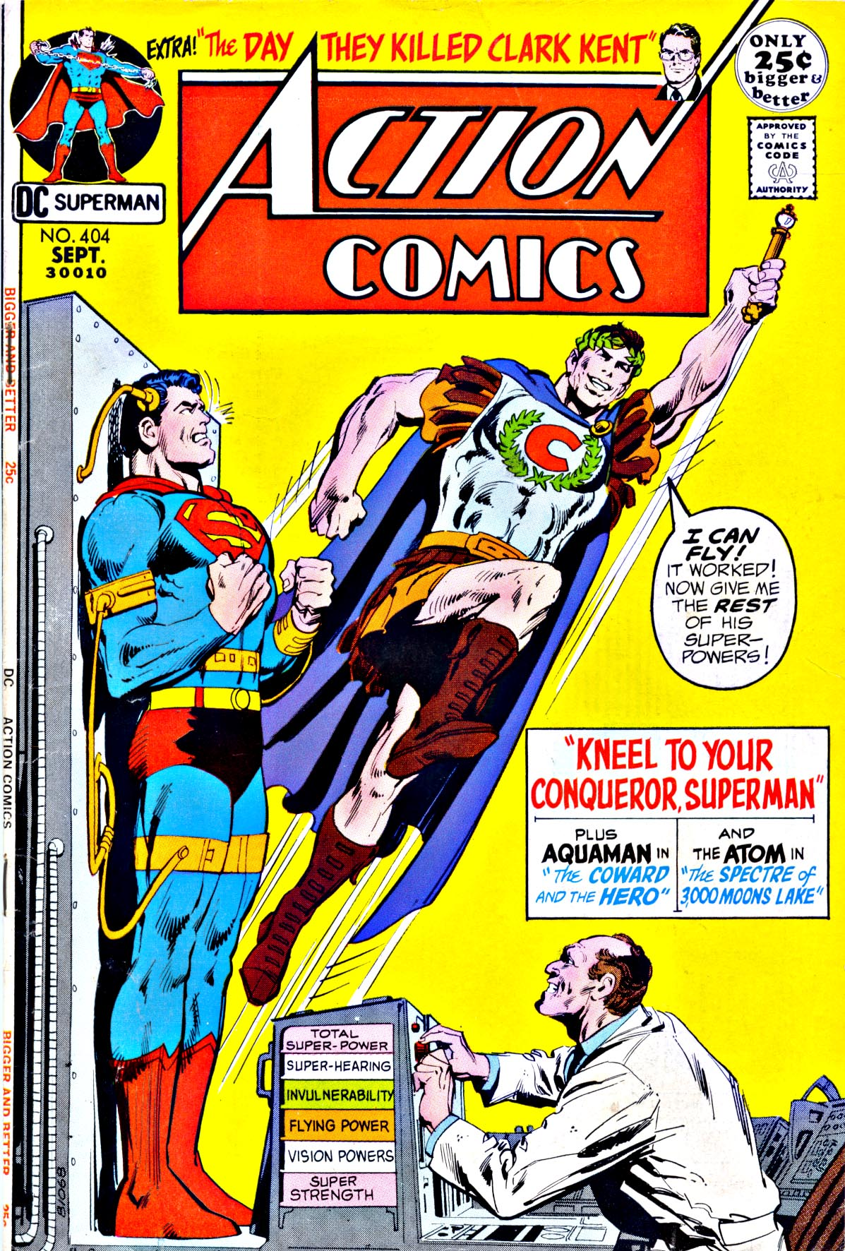 Read online Action Comics (1938) comic -  Issue #404 - 1