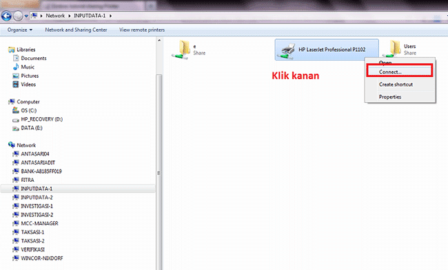 Cara Melakukan Sharing Printer Pada Windows 7 - TutorialCaraKomputer.com