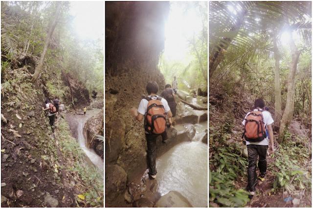 River Trekking Amsikong Falls