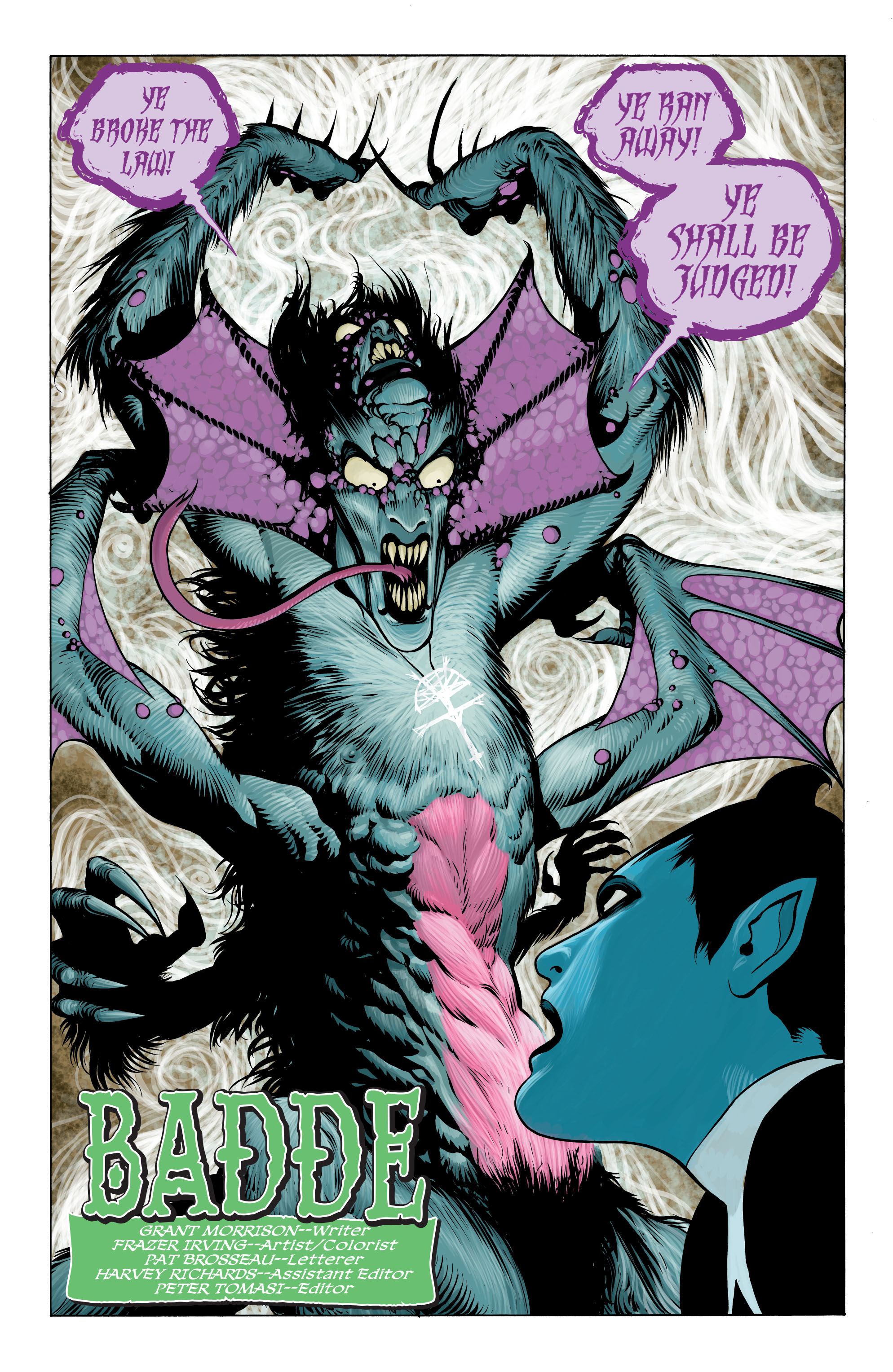 Read online Seven Soldiers: Klarion the Witch Boy comic -  Issue #2 - 2