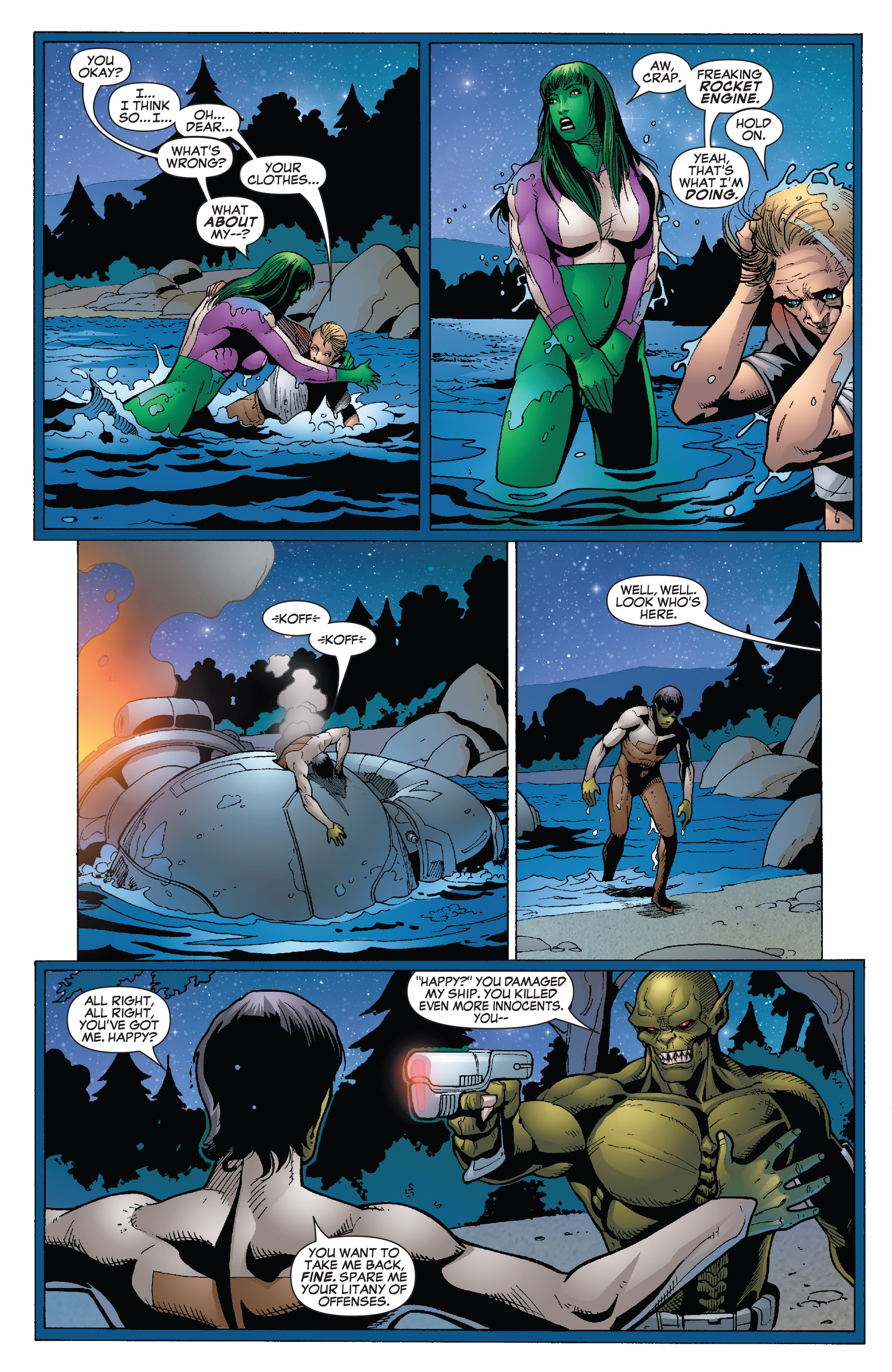 Read online She-Hulk (2005) comic -  Issue #26 - 21