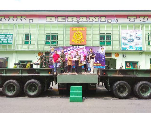 5 Grup Band Magelang Bertarung di Festival Musik Akustik HUT Ke-58 Kostrad