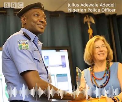 Nigerian Police Officer Who Never Took A Bribe Celebrate By BBC As 'Most Dedicated Officer'