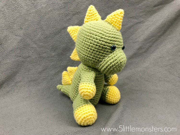 5 Little Monsters Dinosaur Softie