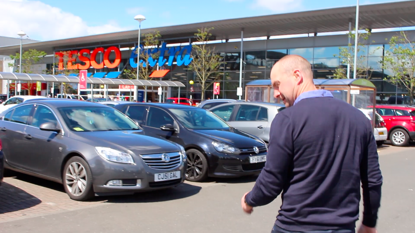 A Fathers Day He Won't Forget | TESCO TANNOY TAKEOVER