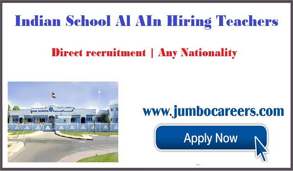 Current jobs in Al Ain, Teachers jobs opening in Al Ain for Indians,