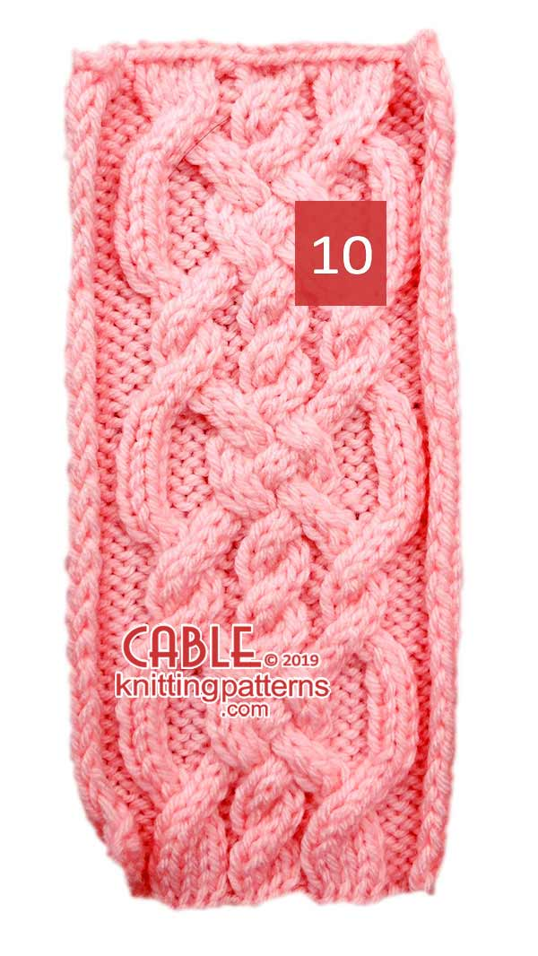 Cable Knitting Pattern 10