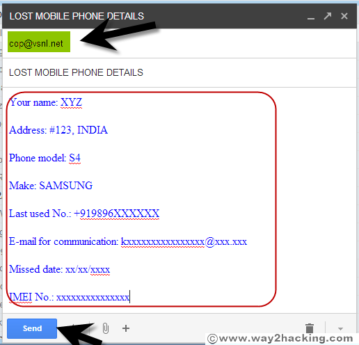 Vaas: Find a Lost/Stolen Mobile Using IMEI Number