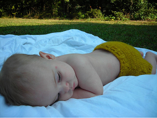 Frugal Diapering: Make Your Own Baby Bum Sweaters