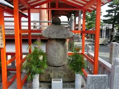 阿古屋塚:六波羅蜜寺