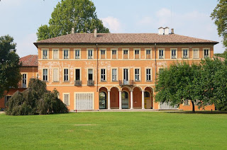 The Villa Litta is a 17th century house within Milan's oldest city park at Affori, where Cairoli was born