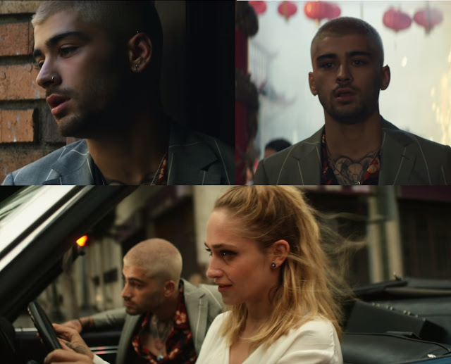 Still Images from the fresh release of action packed video of Zayn 'Dusk Till Dawn' ft Sia