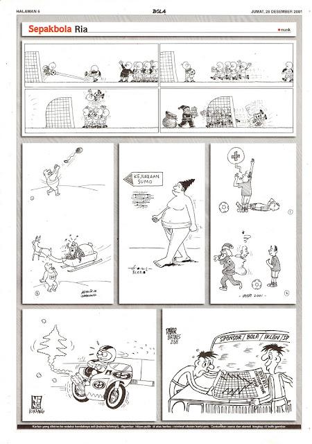 Sepakbola Ria EDISI JUM'AT, 28 DESEMBER 2001
