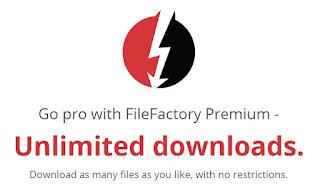 Cuenta Premium FileFactory