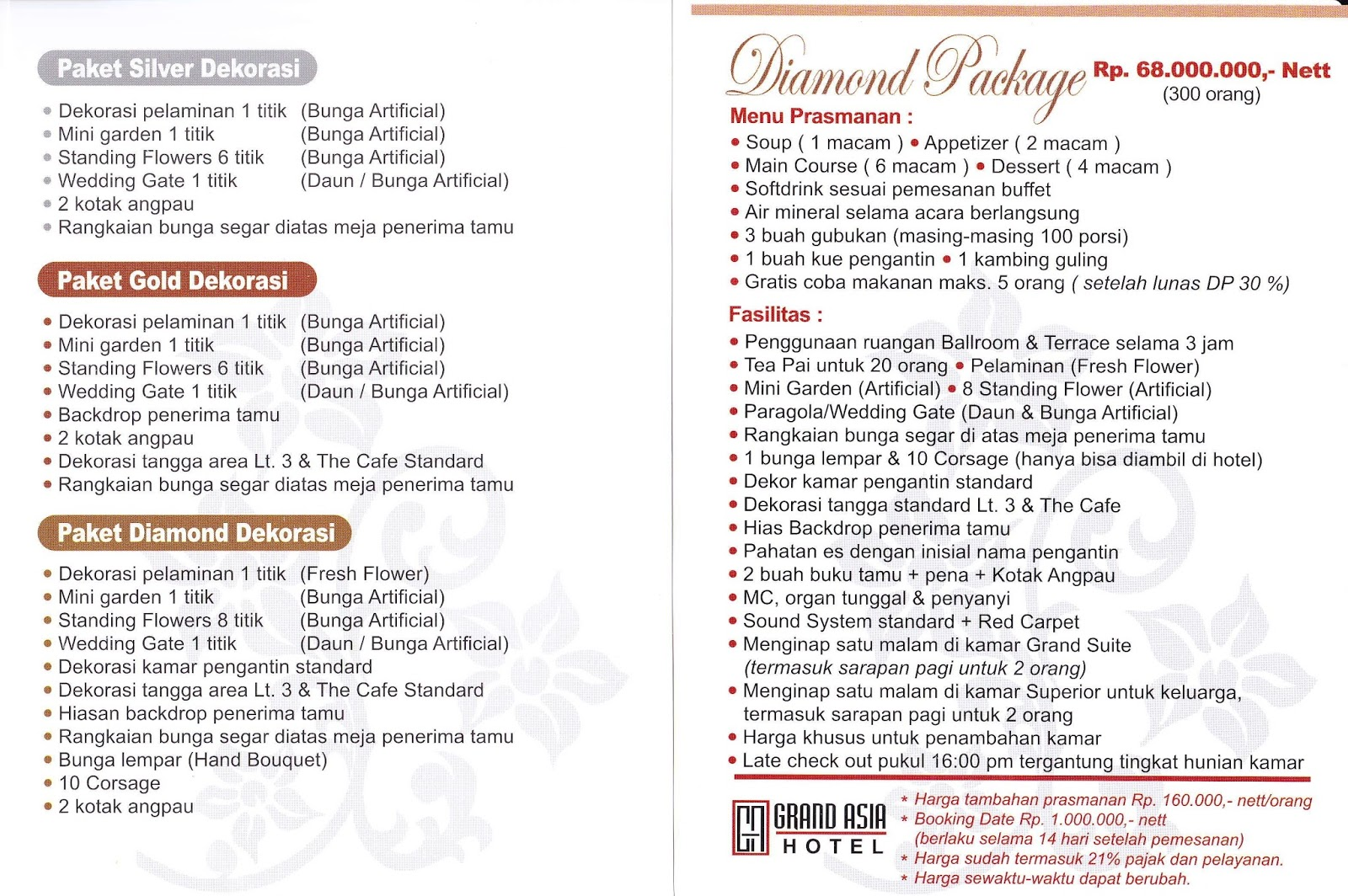 Daftar Wedding Venue Jakarta (Part 1)