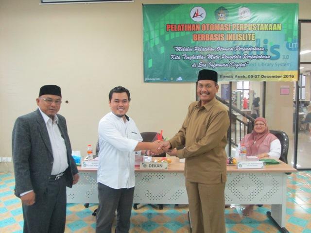 Pengelola Perpustakaan Se- Aceh Dibekali Pelatihan Otomasi Perpustakaan