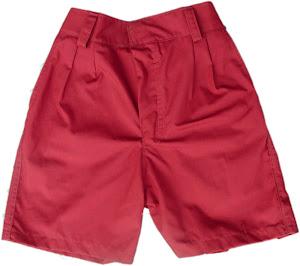 celana merah uk 8,9