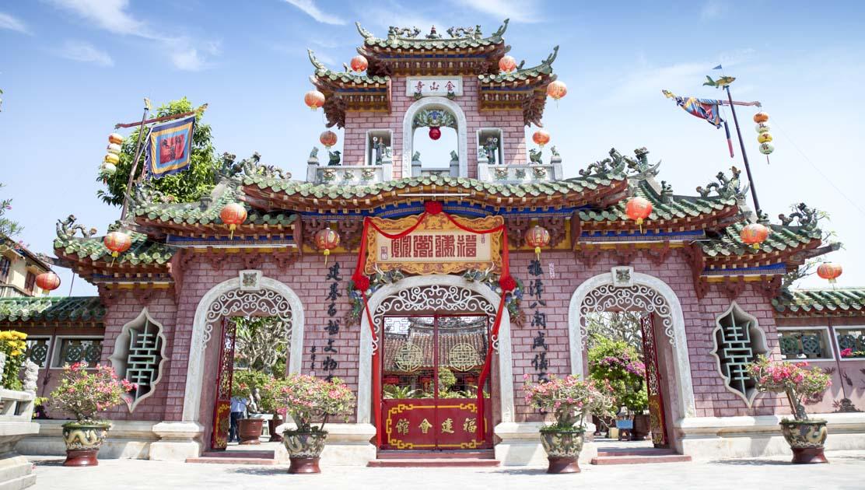 Templo de Quan Cong en Hoi An (Vietnam)
