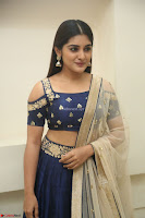 Niveda Thomas in Lovely Blue Cold Shoulder Ghagra Choli Transparent Chunni ~  Exclusive Celebrities Galleries 067.JPG