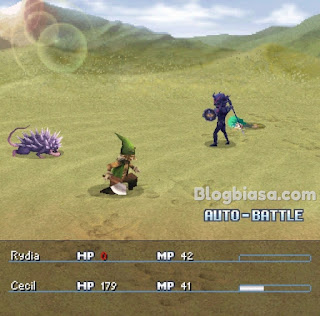 jrpg - final fantasy iv ds