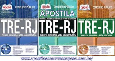 Apostila para Concurso do TRE RJ - Tribunal Regional Eleitoral do Rio de Janeiro - TRE-RJ.